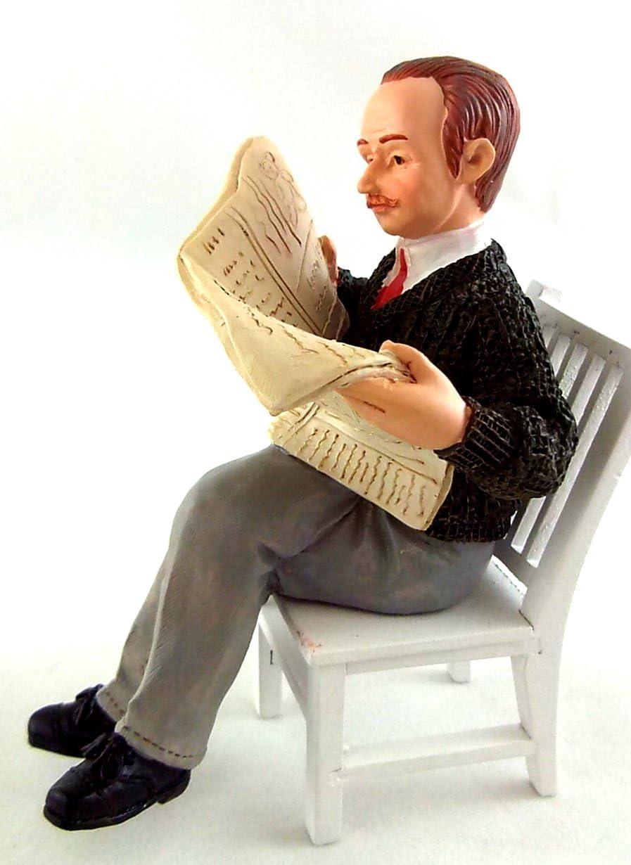 Amazon.es: Abuelo en Miniatura para Casa de Muñecas Escala 1:12 ...