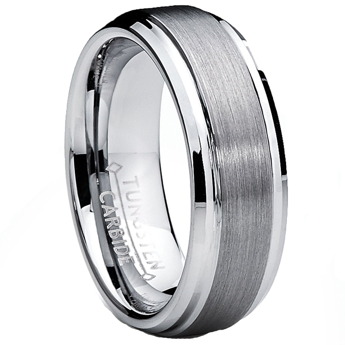 Ultimate Metals Co........... 7MM Bague Alliance Tungstene Pour Homme
