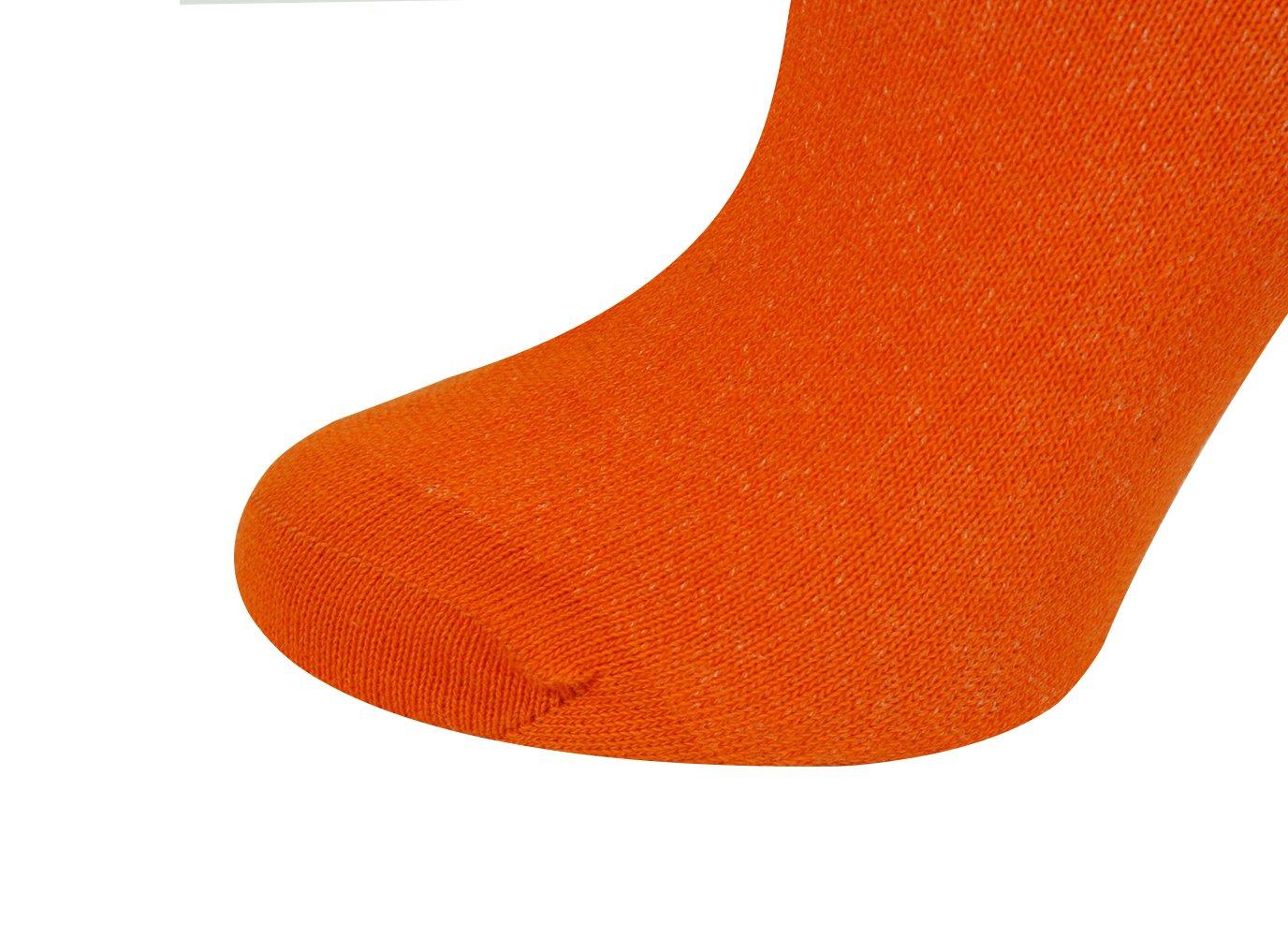 Mysocks Unisex Knee High Long Socks Orange,4-7 by MySocks (Image #5)