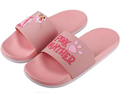 5ca9310d6 Irsoe Pink Panther Women s Latest Slide Flip Flop Slippers  Buy Online at Low  Prices in India - Amazon.in