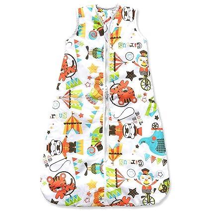 Sacos de Dormir para Bebé, Tiempo de Circo, Kiddy Kaboosh Varios Tamaños, Peso