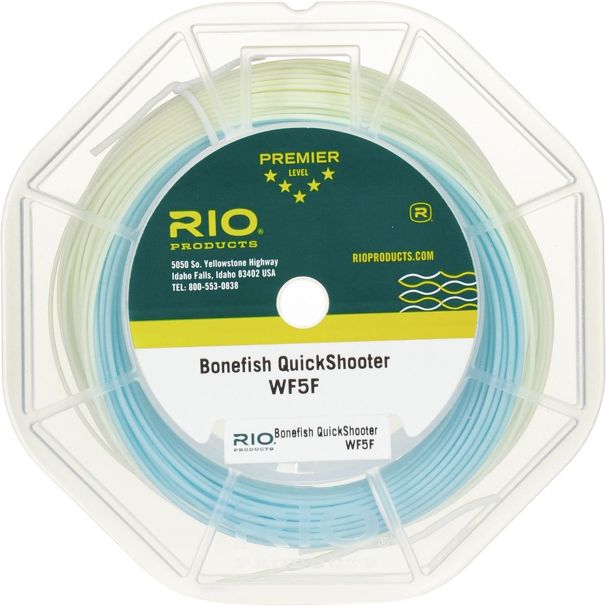 FLOATING WF-9-F TROPICAL SALTWATER FLY LINE with LOOPS color: AQUA BLUE