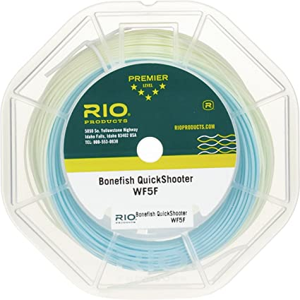 Amazon.com : Rio Brands RIO Bonefish Quickshooter Fly Line : Sports ...
