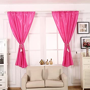 Vorhänge ösen Wohnzimmer Modern Jamicy® 1PCS 140x160cm Neu Mode Auto  Transparent Orientalisch Muster Einfarbig Fenster