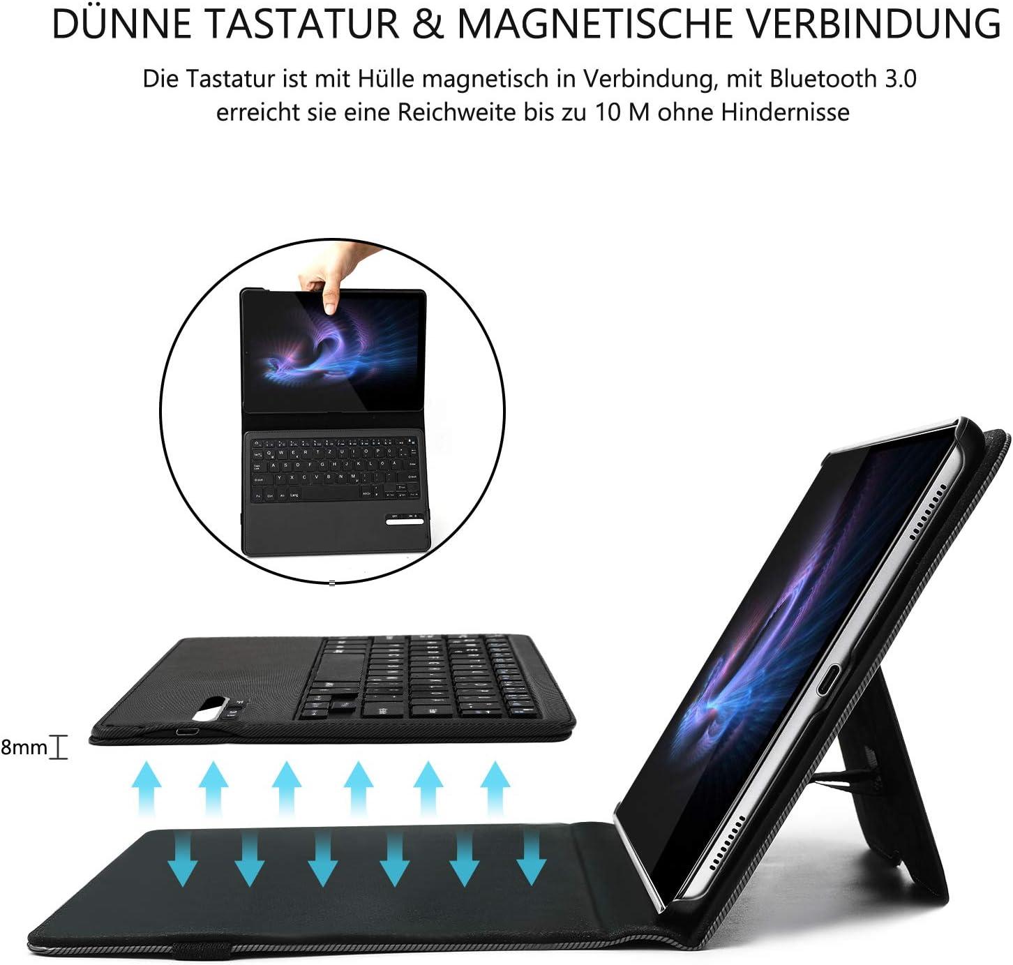 Jelly Comb Funda protectora ultradelgada con teclado Bluetooth ...