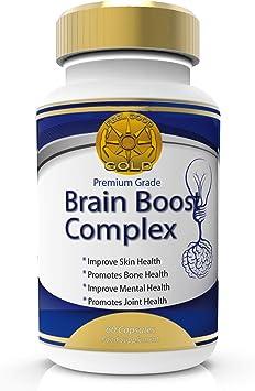 Potenciador Cerebral Nootrópicos Fuerza Max Con Vitaminas Para ...