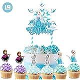 Amazon.com: Juego de 24 piezas de decoración para cupcakes ...