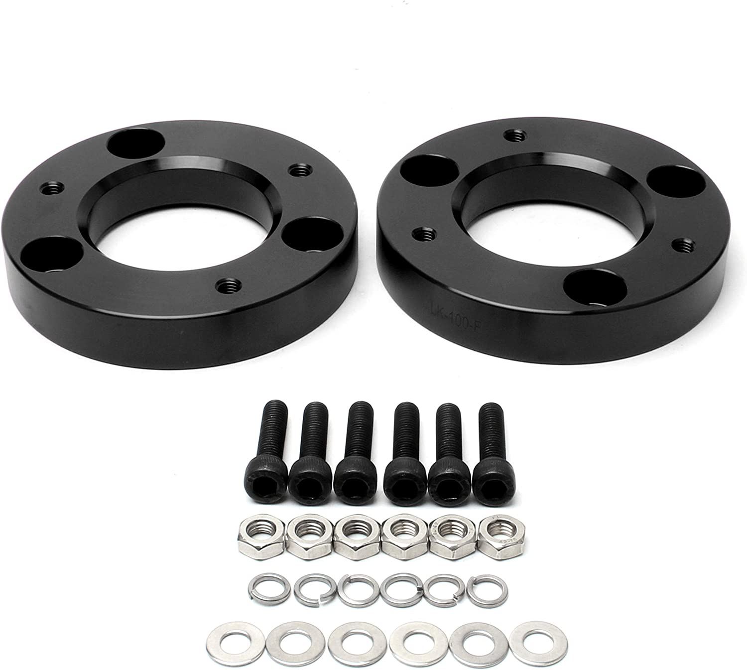 1 2WD 4WD ZY Wheel Front Leveling Lift Kits Strut Spacers for 2004-2020 Ford F150 2003-2017 Ford Expedition 2005-2008 Lincoln Mark LT
