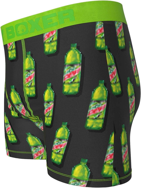 Mountain Dew Bottles Mens Underwear Boxer Briefs