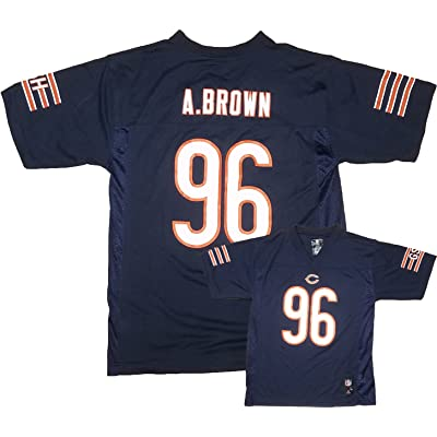 Alex Brown Chicago Bears Navy Youth Mid-Tier Home Jersey