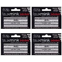Ardell False Eye Lashes Faux Mink Individuals Long Black 4 Pack