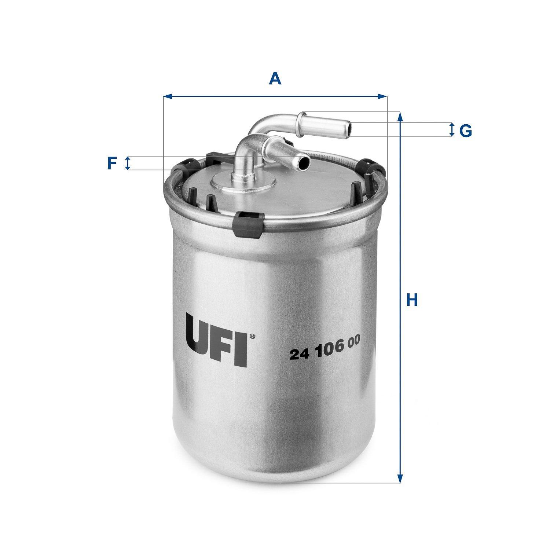Ufi Filters 24.106.00 Filtre Diesels