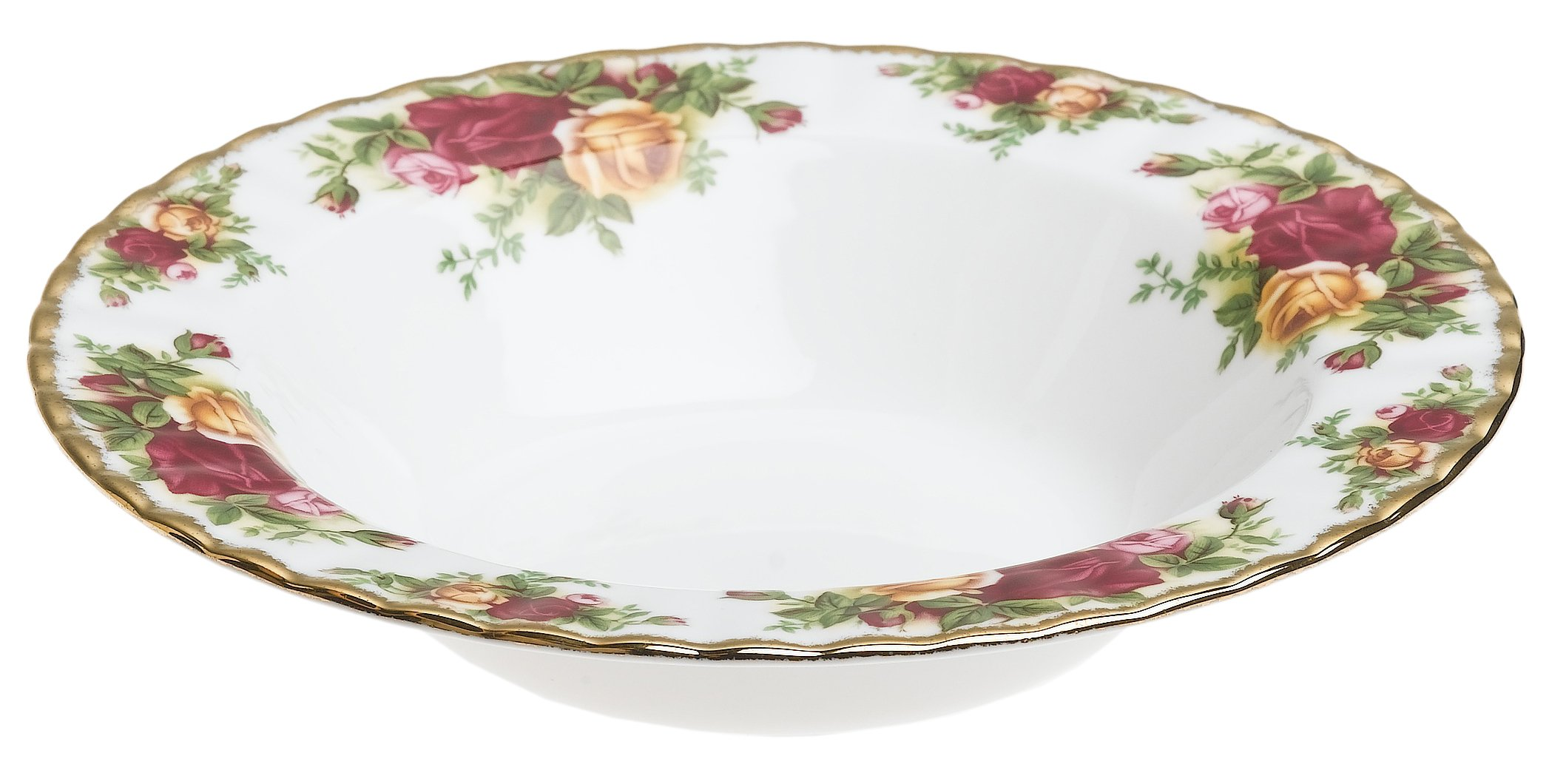 Royal Albert Old Country Roses8-inch Rim Soups, Set of 4