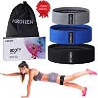 Hurdilen Resistance Bands Loop Exercise Bands Booty Bands,Workout Bands Hip Bands Wide Resistance Bands Hip Resistance Band for Legs and Butt,Activate Glutes and Thigh