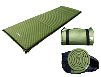 Luxe Tempo Luxury Self Infalting Sleeping Pad 3 6LB Camping