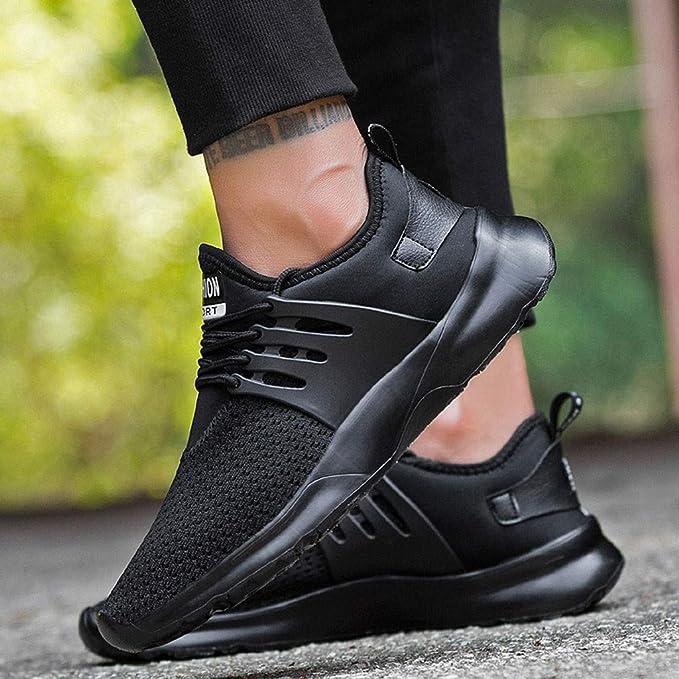 021d7786ac60 Amazon.com : Hunzed Men【Breathable Mesh Shoes】Clearance Men's ...