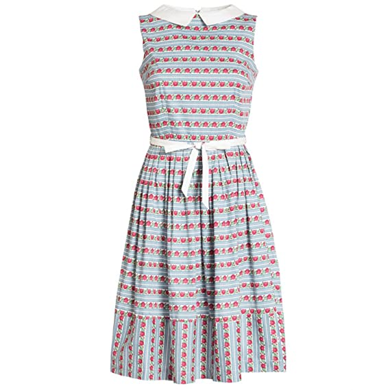 377a883ca4e1 Blutsgeschwister Love Man Dress Sommerkleid Damen - L  Amazon.de ...
