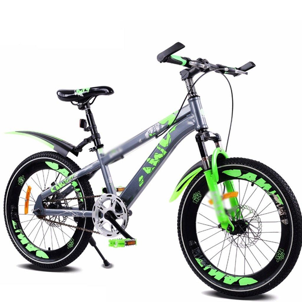 DUWEN Bici da 20 Pollici da 20 Pollici per Bicicletta da Montagna a velocità Singola per Bambini (Dimensioni   20 inch)