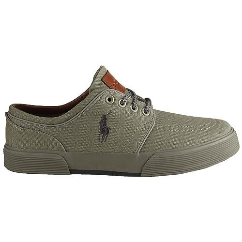 Polo Ralph Lauren Faxon Mid PR G/en gris G Zapatillas Moda Hombre 13d \ UK: Tamaño 12d: Amazon.es: Zapatos y complementos