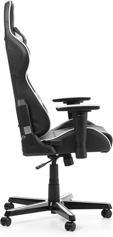 DXRacer OH//FH08//N Formula F08 Chaise de Gaming Ergonomique en Similicuir pour PC//PS4//XBOX One Noir Cuir synth/étique loriginal 67 x 67 x 128 cm