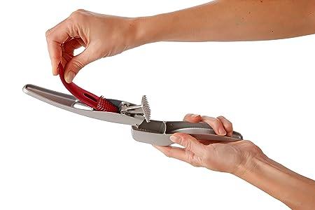 Compra ZYLISS Susi 3 Prensa Ajos | Sin necesidad de pelarlos | Picador y pelador | Incorpora accesorio limpiador | Fabricado con Aluminio de Fundición en ...