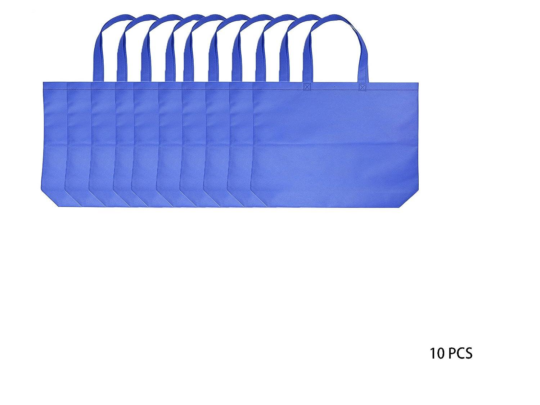 【激安】 再利用可能なショッピングbags|不織布PP | Eco B076V5VM56 friendly| Conventional bags| Large sqare| B076V5VM56 sqare| | ダークブルー, RECLO(リクロ):906b7942 --- 4x4.lt