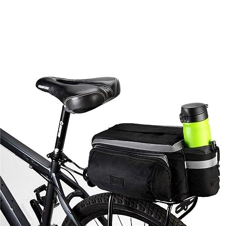 fbe848ee09d TRADERPLUS Bike Pannier Bag - Durable   Waterproof Nylon with Reflector  Handbag