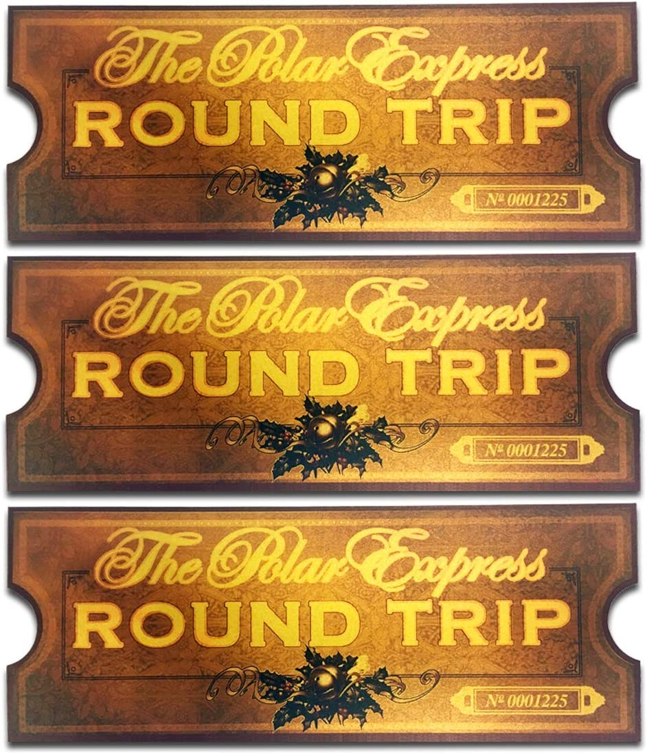 This is a picture of Printable Polar Express Ticket with regard to golden keepsake