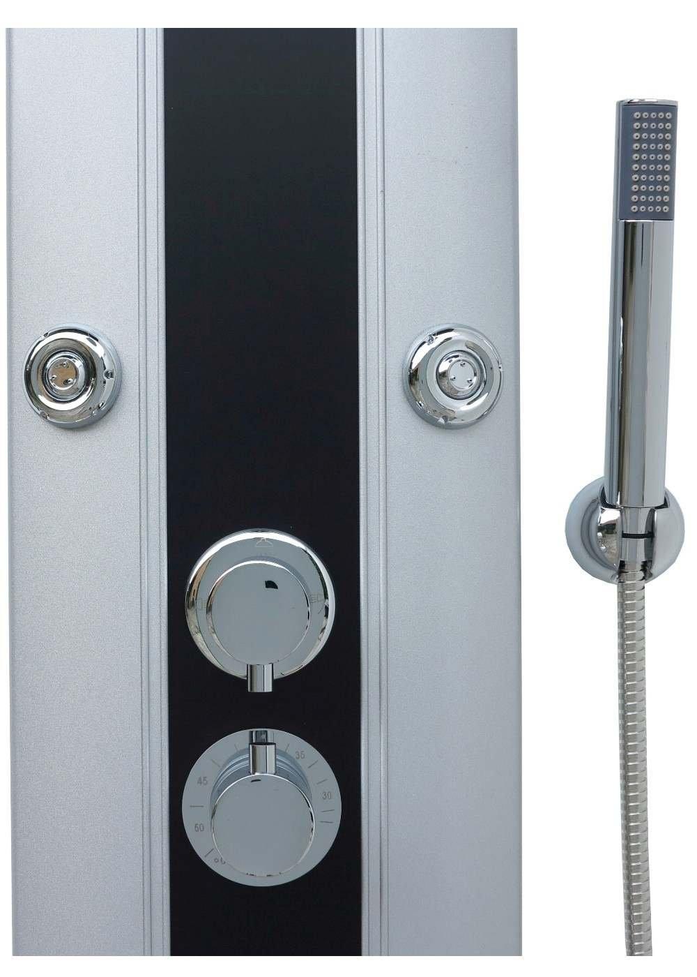 Thermostatic Shower Panel Aluminium Shower Panel/Shower Column Large ...