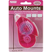 Pioneer Photo Albums Auto Mounts Dispenser with 350 Photo Mounting Double Sided Self Adhesive Squares - AM-350