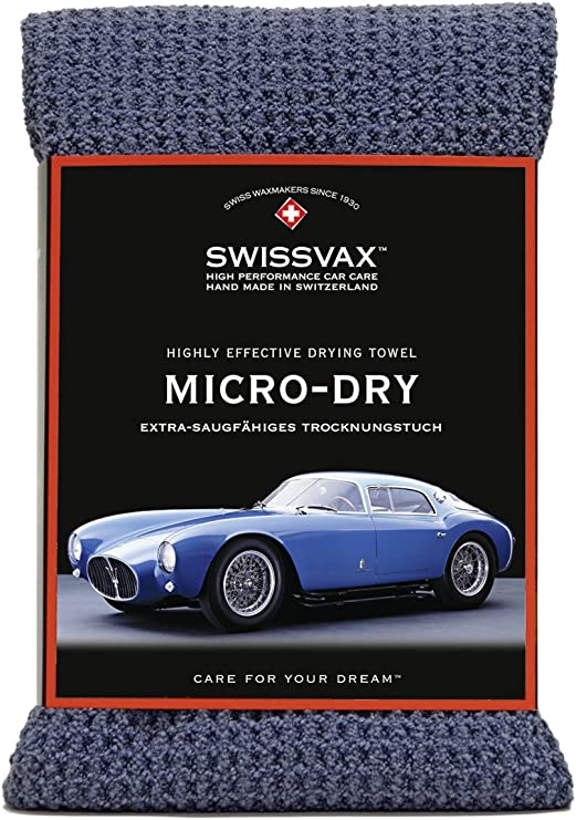 Swissvax Europe Swissvax SwizÖl Micro Dry Das Trockenwunder Anthrazit Auto