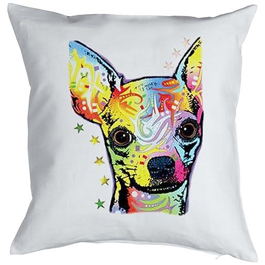 Chihuahua - Perros Cojín de diseño Neon Colores: Chihuahua ...