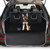 Toozey Kofferbakbescherming voor hond - Universele Antislip Autolaars Hondendeken met Zijbescherming en…