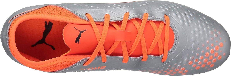 PUMA One 4 Syn FG Jr Chaussures de Football Mixte Enfant