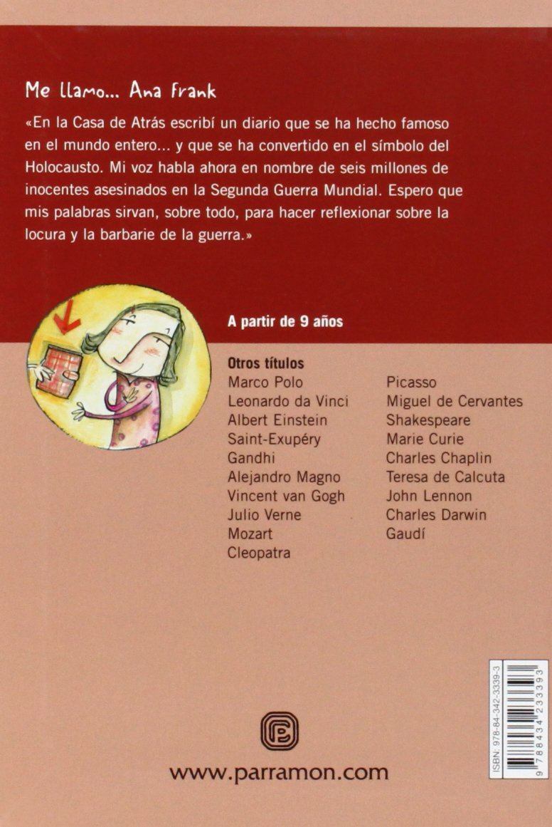 ME LLAMO ANNA FRANK: Amazon.es: Gil, Carmen, Galí, Mercè: Libros