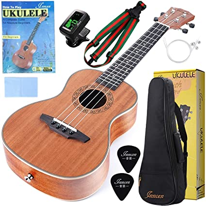 Guitar Parts & Accessories Kmise 23 Inch Concert Ukulele Parts Mahogany Ukulele Neck And Rosewood Fingerboard Fretboard Attractive Appearance