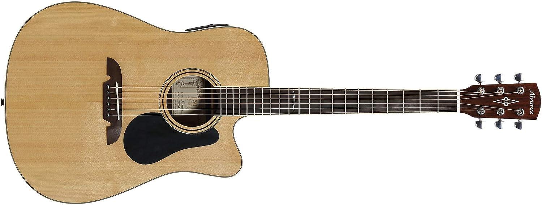 Alvarez AD70WCE - Guitarra acústica de hombro faltante eléctrica