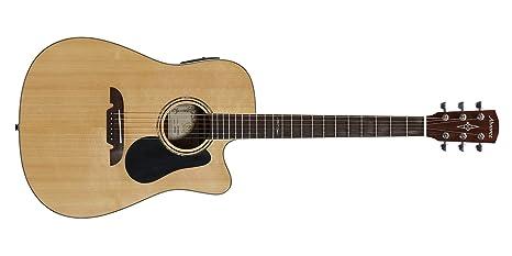 Alvarez AD70WCE - Guitarra acústica de hombro faltante eléctrica ...