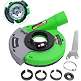 Diment Power Universal Surface Grinding Dust Shroud for Angle Grinder 4 inch/ 4.5 inch/ 5 inch. Collect Grinding Dust…