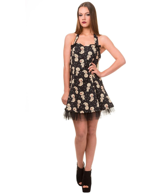 DBN5061 Banned Distractions Voodoo Dolls Mini Dress