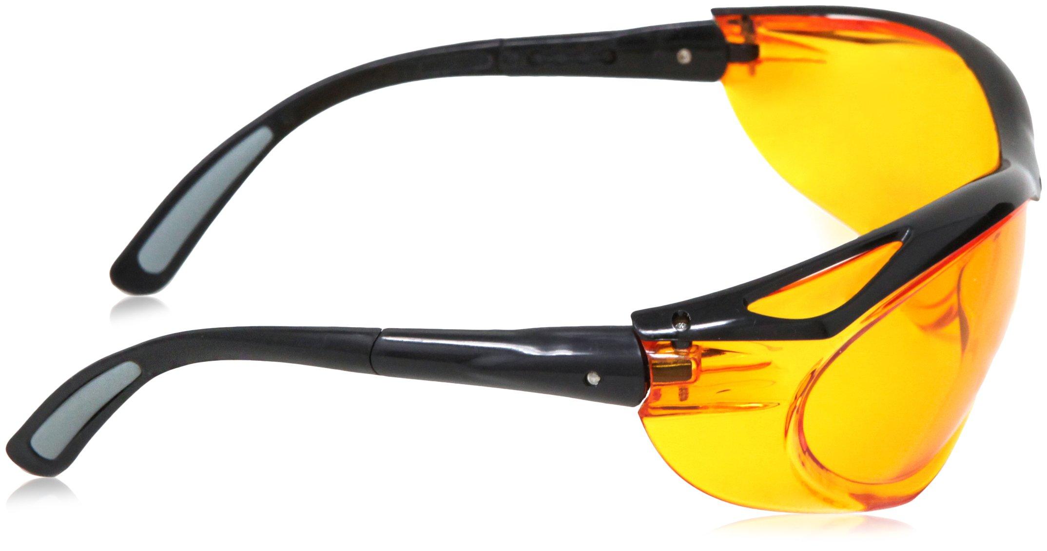 AmazonBasics Blue Light Blocking Safety Glasses, Anti-Fog, Orange Lens, 12-Count by AmazonBasics (Image #7)