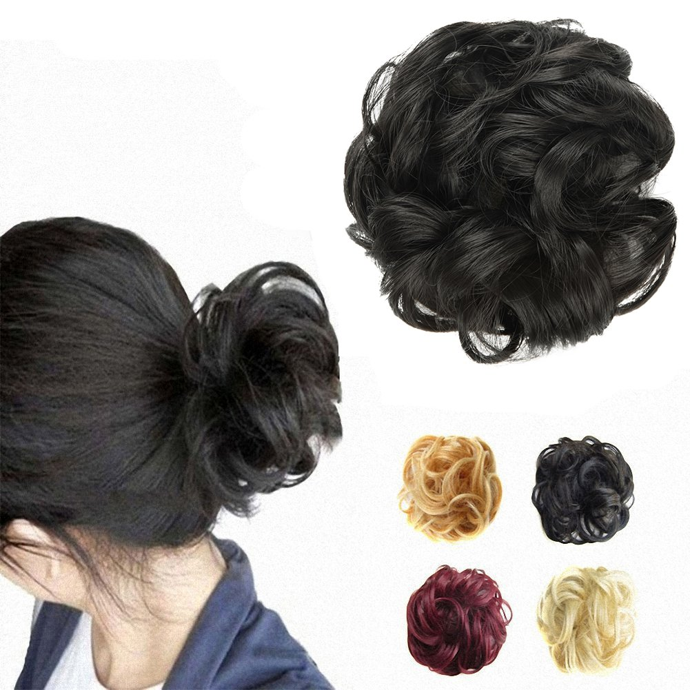 Amazon.com : OneDor Ladies Synthetic Wavy Curly or Messy Dish Hair ...