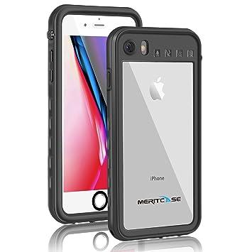 8c6b19e445 Merit iPhone7 防水ケース iPhone8 防水 リング付き スタンド機能 防水カバー 防塵 耐衝撃 アイフォン. 画像に ...