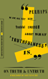 On Truth and Untruth: Selected Writings (Harper Perennial Modern Thought)