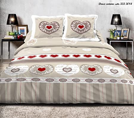 3 Piece Bedding Set For Double Bed 220 X 240 Cm And For King Size