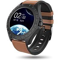 BIGCHINAMALL Reloj Inteligente Hombre, Smartwatch de Pantalla Táctil Completa, Relojes Deportivo Pulsómetro, Reloj…