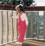 """BHBY Balcony Stairs Safety Net for Children (118"""")"""