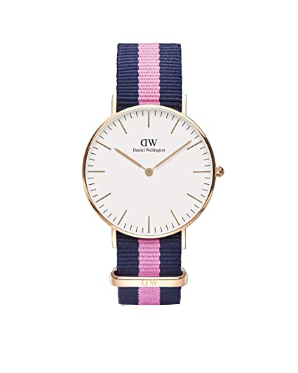 be28e75446a1 Daniel Wellington Women s Quartz Watch Classic Winchester Lady 0505DW with  Plastic Strap