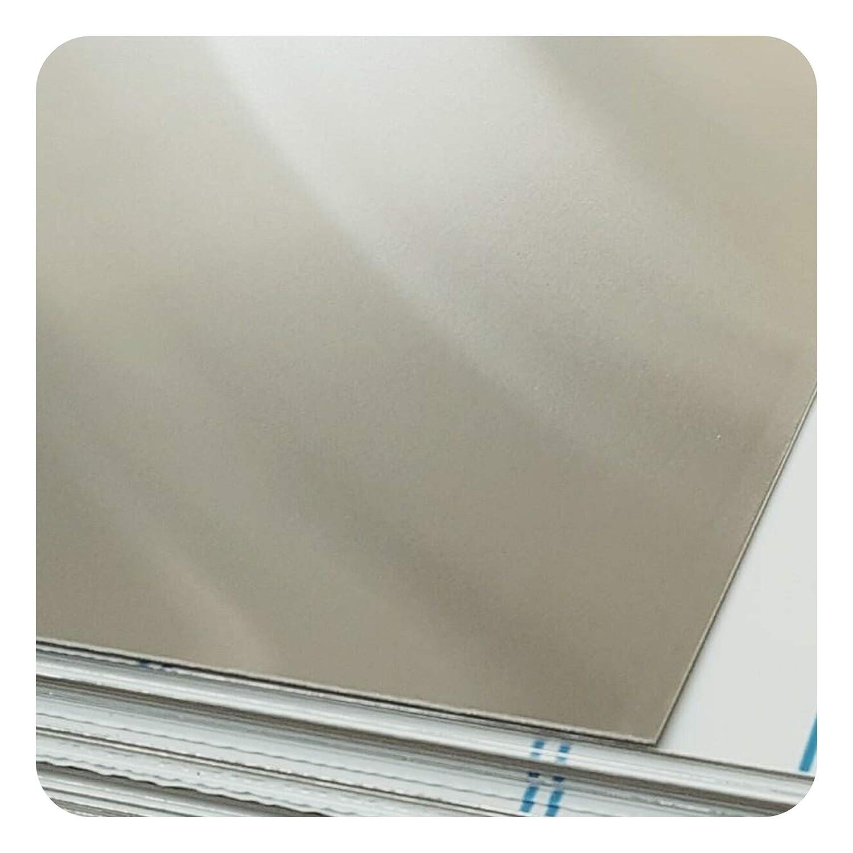 Stahlog Bleche Aluplatte Alublech Blech in 0.5mm Blechzuschnitt nach Auswahl (0.5mmx 100mmx 200mm)