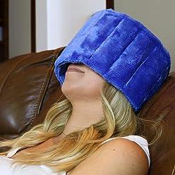 Huggaroo Cold Migraine Headache Wrap | Eye Mask